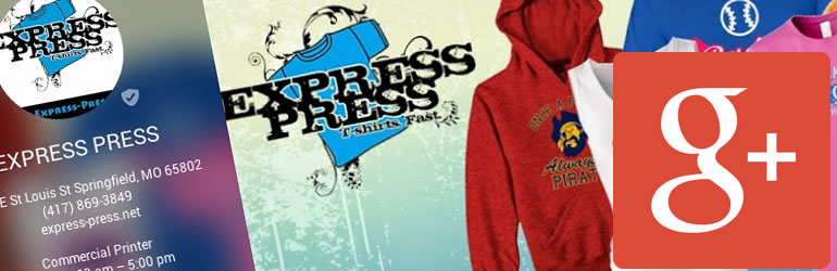 express press on google plus